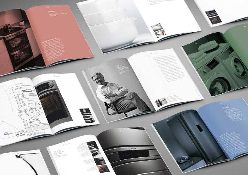 AEG, branding, spread, design