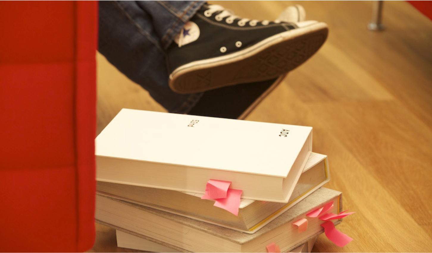 Converse, books
