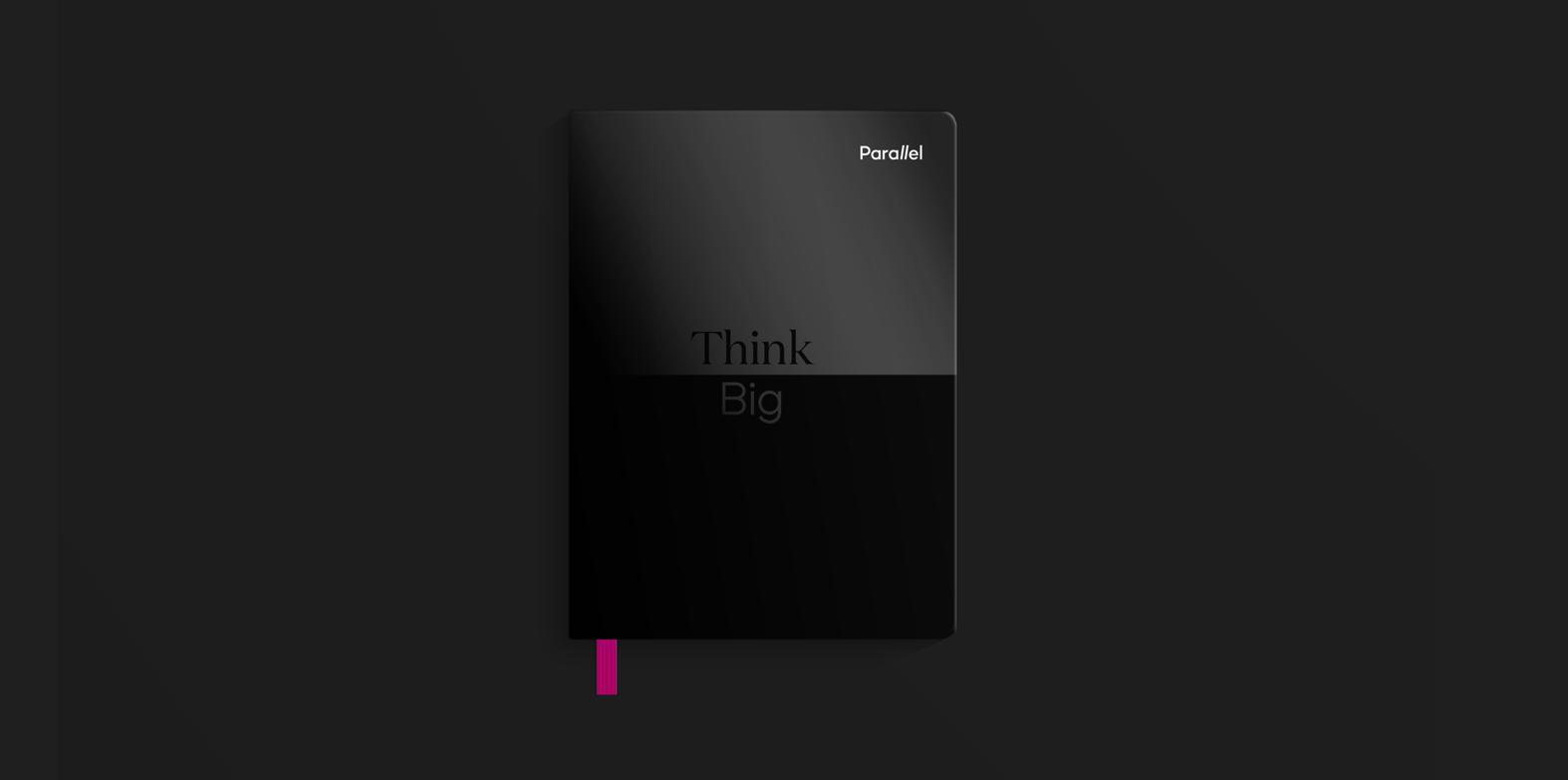Parallel Black Notebook